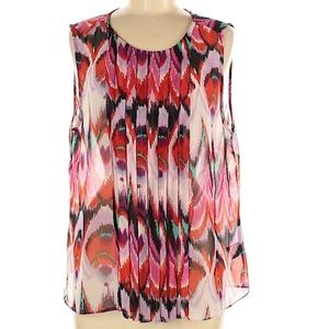 W118 by Walter Baker abstract sheer tunic M